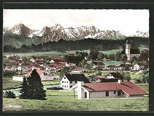 Ansichtskarte Lechbruck, Sicht über den Ort