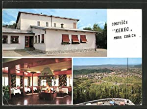 Ansichtskarte Nova Gorica, Gostisce Kekec, Aussen- u.