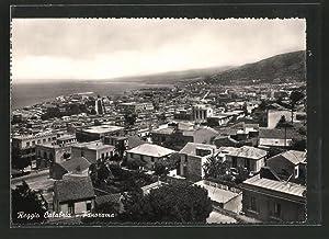 Cartolina Reggio Calabria, Panoramaansicht
