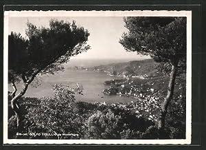 Cartolina Montallegro, Gesamtansicht mit Golf von Tigullio