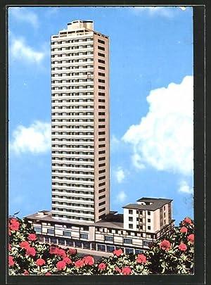 Cartolina Cesenatico, Palazzo Albergo Marinella