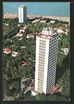 Cartolina Milano Marittima, I Grattacieli, The Skyscrapers,