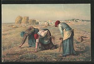 Künstler-Ansichtskarte Stengel, Co. Nr. 29900: Les glaneuses,