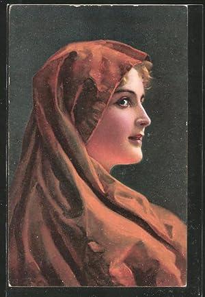 Künstler-Ansichtskarte Stengel, Co. Nr. 29470: Marga von