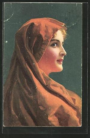 """Künstler-Ansichtskarte Stengel, Co. Nr. 29470: """"Marga"""" von"""