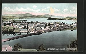 Postcard Vermont, VT, Newport and Lake Memphremagog