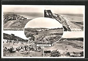Postcard Sheringham, Beach and Sands, Cliffs and