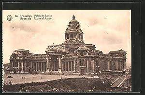 Ansichtskarte Brussels / Bruxelles, Palace of Justice