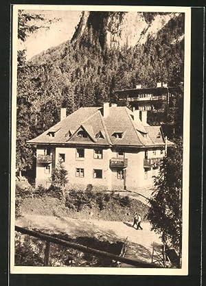 Ansichtskarte Lacul Rosu / Ghilcos, Caminul C.C.S.
