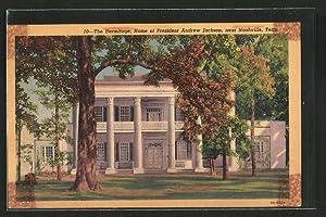 Postcard Nashville, TN, the Hermitage, Home of