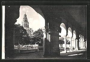 Postal Córdoba, Mezquita, Claustro, Patio de los