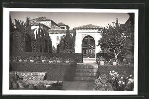 Postal Malaga, Alcazaba, Patio de los Surtidores