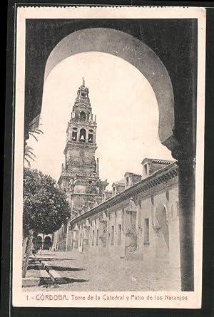 Postal Córdoba, Torre de la Catedral y