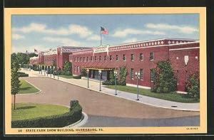 Postcard Harrisburg, PA, State Farm Show Building