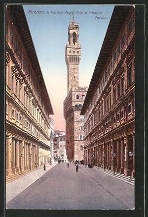Artista-Cartolina Firenze, Il Portico degli Uffizi e