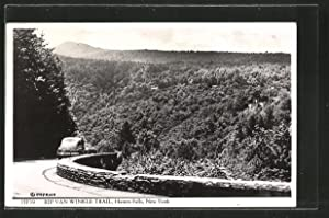 Postcard Haines Falls, NY, Rip Van Winkle