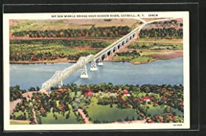 Postcard Catskill, NY, Rip Van Winkle Bridge