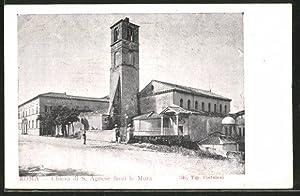 Cartolina Roma, Chiesa di S. Agnese fuori
