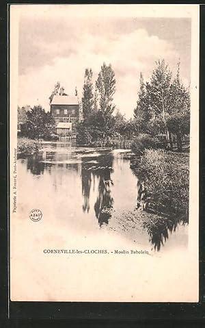 Carte postale Corneville-les-cloches, moulin Babolein