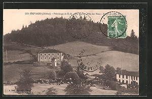 Carte postale Les-Sauvages, pélérinage de Notre-Dame de
