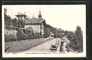 Carte postale Sainte-Catherine-sur-Riverie, route de Riverie