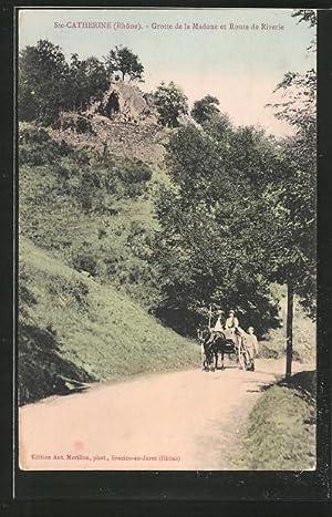 Carte postale Ste-Catherine, Grotte de la Madone