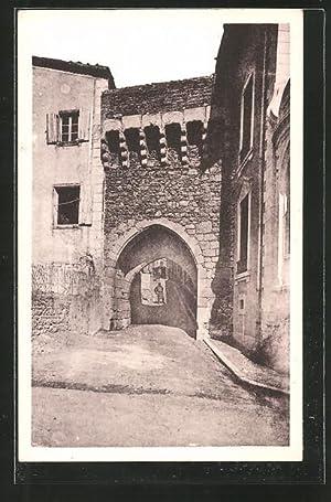 Carte postale St-Symphorien-sur-Coise, Ancienne Ville murée, La