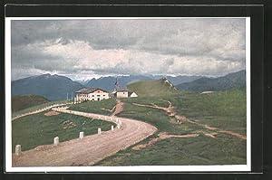Cartolina Racines, Passo del Giova sulla Strada