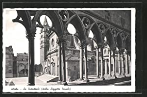 Cartolina Viterbo, La Cattedrale (dalla Loggetta Papale)