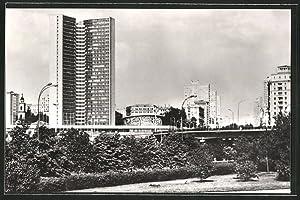 Ansichtskarte Moskau, RGW-Haus am Kalinin - Prospekt