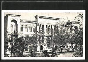 Ansichtskarte Noworossisk, Gebäude der Kommunistischen Partei KPSS