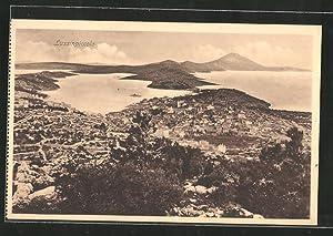 Ansichtskarte Lussinpiccolo, Panorama-Ansicht