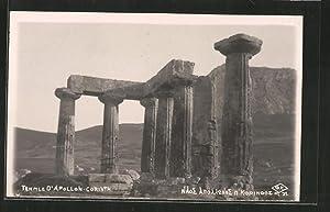 Ansichtskarte Corinth, Temple d'Apollon