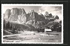 Cartolina Rifugio Monti Pallidi, Pian Schiavaneis, Gruppo