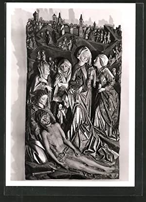 Ansichtskarte Fulda, Dom, Kreuzabnahme und Beweinung Christi,