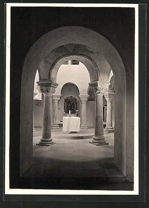 Ansichtskarte Fulda, Michaelskirche, Blick in die Rotunde