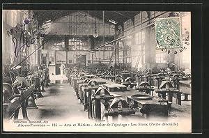 Carte postale Aix-en-Provence, Arts, métiers, atelier d