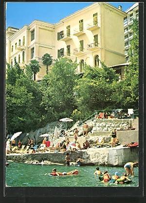 Ansichtskarte Abbazia / Opatija, Hotel Istra