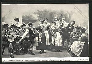 Ansichtskarte Reichenhall, Jakob Damhofer's Oberbayrische Sänger-, Jodler