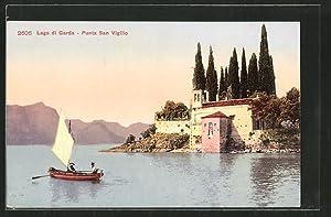 Cartolina San Vigilio, Partie an der Locanda