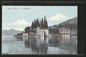 Cartolina San Vigilio, Ortspartie am Hafen
