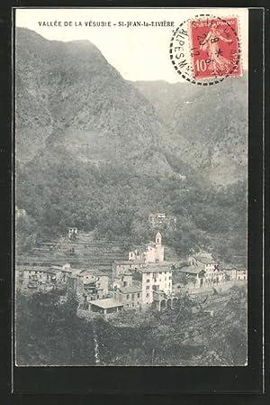 Carte postale St-Jean-La-Rivèrie, vue générale