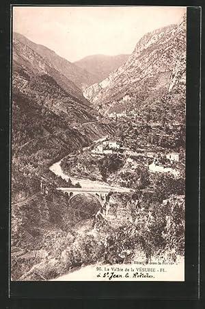 Carte postale St-Jean-La-Rivèrie, La Vallée du Vésuvie,