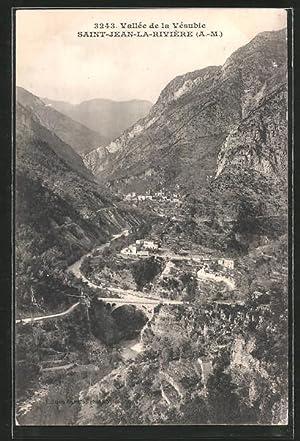 Carte postale St-Jean-La-Rivèrie, Talpartie avec Viadukt