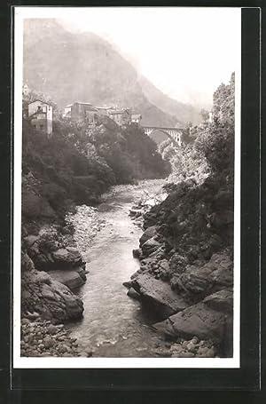 Carte postale St-Jean-La-Rivèrie, Vallée de la Vésubie,