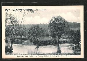 Carte postale Torcy-le-Grand, la Varenne, pêcherie de