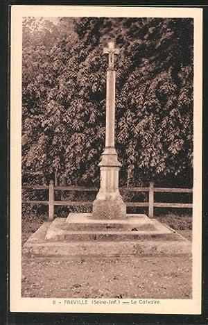 Carte postale Fréville, le calvaire