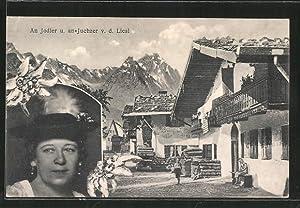 Ansichtskarte An Jodler und an Juchzer von