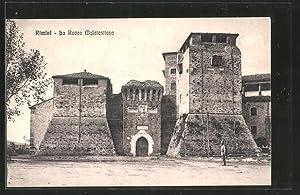 Cartolina Rimini, La Rocca Malatestiana