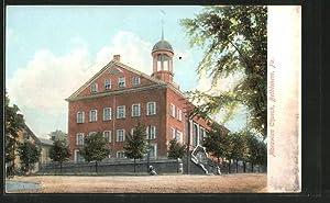 Postcard Bethlehem, PA, Moravian Church